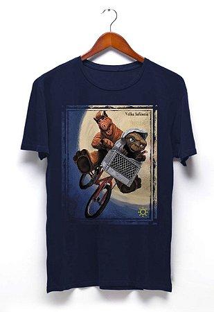 Camisa Alf e ET - Azul
