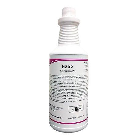 H2D2 1 Litro Limpador Desengraxante Industrial - Spartan