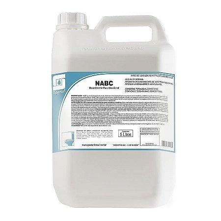 NABC 5 Litros Desinfetante Limpador Neutro - Spartan
