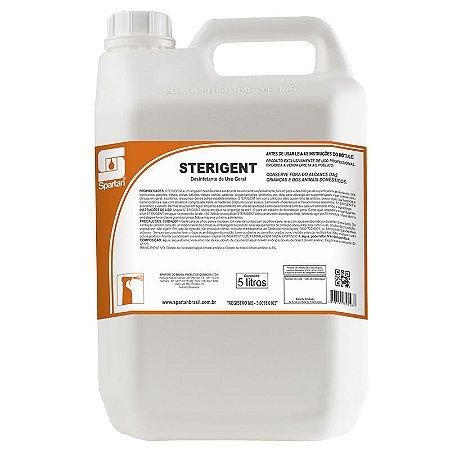 Sterigent Desinfetante e Limpador Bactericida 5 Litros Spartan