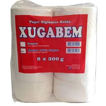 Papel Higiênico Institucional 8 Rolão De 300 Metros Xugabem