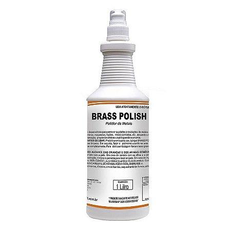 Brass Polish 1 Litro Polidor De Metais Pronto Uso - Spartan