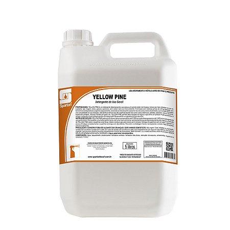 Yellow Pine 5 Litros Detergente Desengraxante Spartan