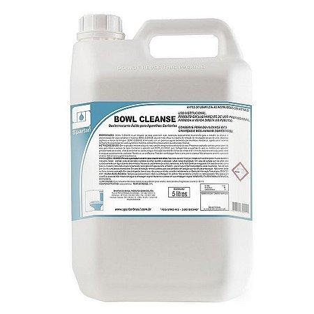 Bowl Cleanse 5 Litros Limpador Desincrustante Com Ação Bactericida - Spartan