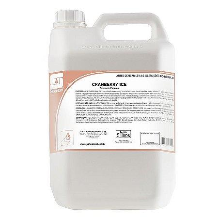 Cranberry Ice 5 Litros Sabonete Espuma Com Aloe Vera E Vitamina E - Spartan