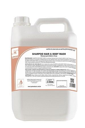 Shampoo Hair & Body Wash 5 Litros Shampoo Para Cabelo E Corpo