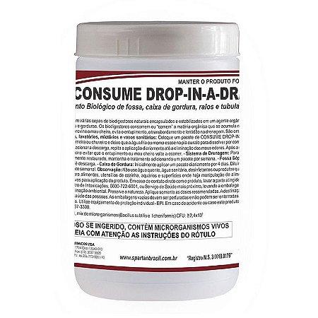 Consume Drop-In-A-Drain 350 Gramas Tratamento Biológico - Spartan