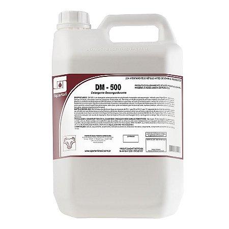 DM-500 5 Litros Detergente Desengordurante Levemente Alcalino - Spartan
