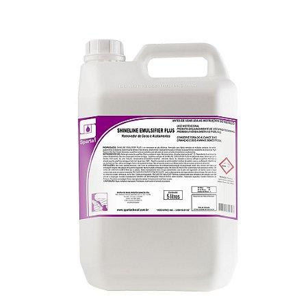 Shineline Emulsifier Plus 5 litros Removedor De Acabamentos Ceras E Seladores Spartan