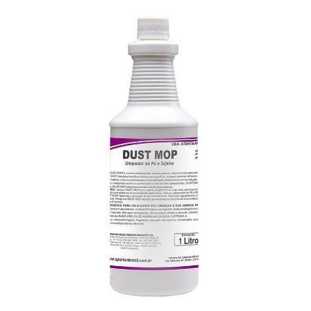 Dust Mop 1 Litro Limpador De Pó E Sujeira - Spartan