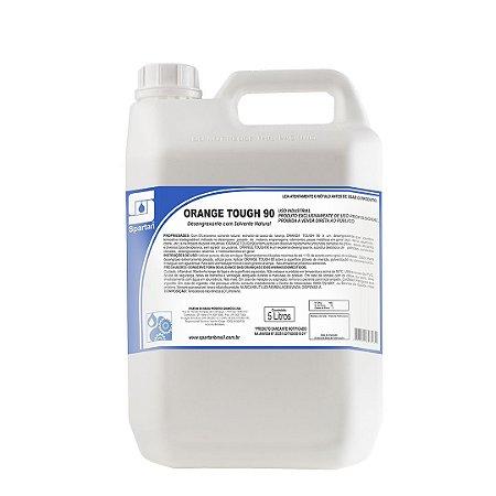 Orange Tough 90 5 Litros Desengraxante Com Solvente Natural - Spartan