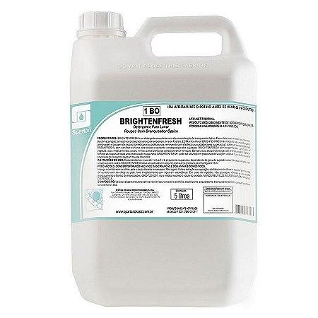 Brightenfresh 5 Litros Detergente Para Lavar Roupas Com Branqueador Óptico Spartan