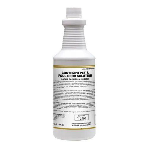 Contempo Pet & Foul Odor Solution 1 Litro Limpa Carpetes E Tapetes - Spartan