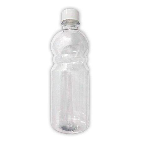 Frasco Garrafa De Plástico 500 Ml Com Tampa