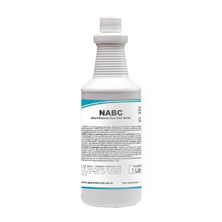 NABC 1 Litro Desinfetante Limpador Neutro - Spartan