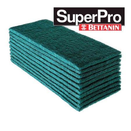 Fibra Verde de Limpeza Geral Slim Com 10 Unidades SuperPro Bettanin