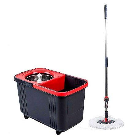 Conjunto Mop E Balde Espremedor Plástico Sem Pedal SuperPro Bettanin