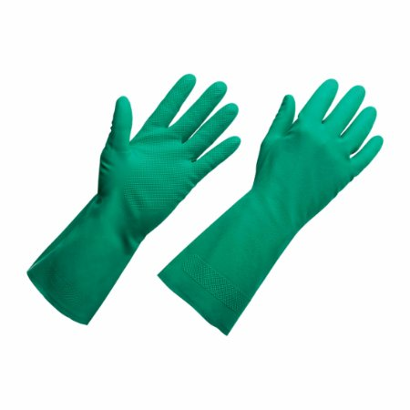 Luva Nitrílica Verde Com Forro Standard Quality SuperPro Bettanin