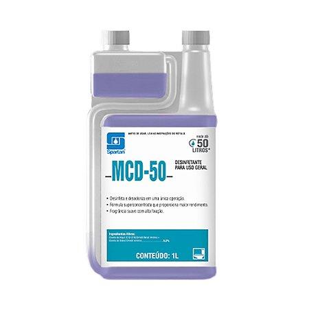 MCD-50 1 Litro Limpador Com Ação Bactericida - Spartan