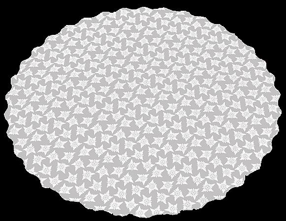 Fundo para Bolos e Tortas Estampa Renda - 33 cm de diâmetro