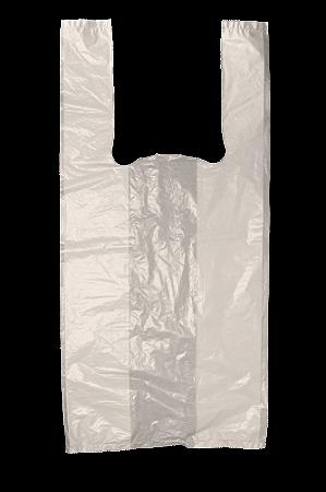 Sacola Plástica Bege - 30x40 cm