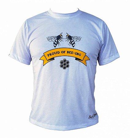 Camiseta TNA Nunes Proud Bee-Ing - Branca
