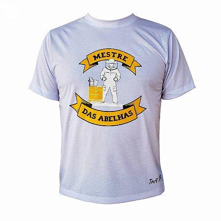 Camiseta TNA Nunes Mestre das Abelhas - Branca
