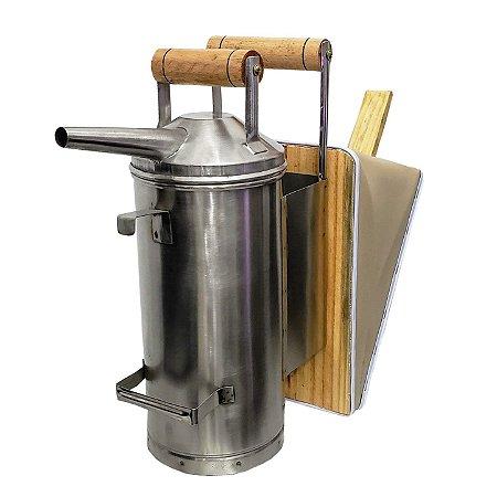 Fumegador de Aço Inox Aisi 304 AGTR 6 Litros - Apicultura