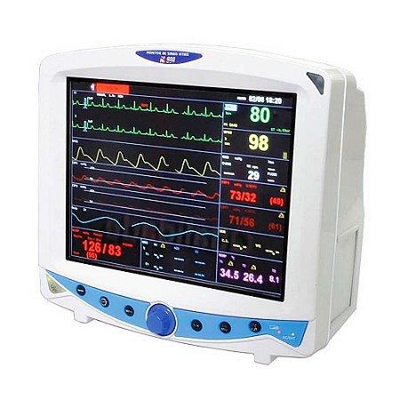 Monitor de Sinais Vitais MX 600 Multiparamétrico