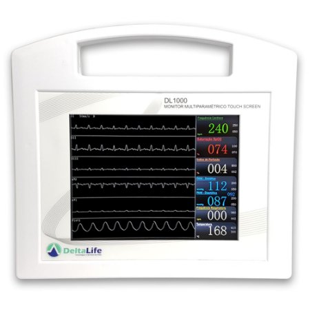 DL1000 Monitor Multiparamétrico com Capnografia Veterinário