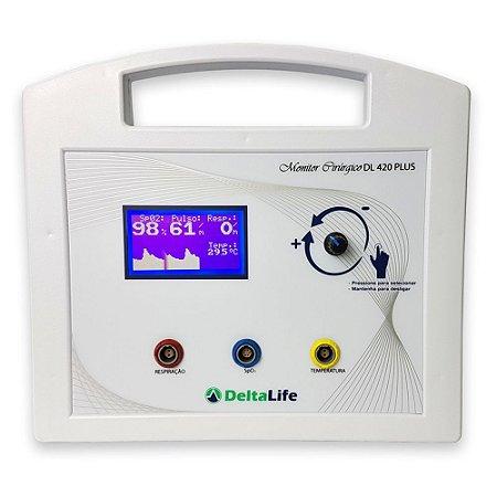 DL420 Plus Monitor Cirúrgico Veterinário