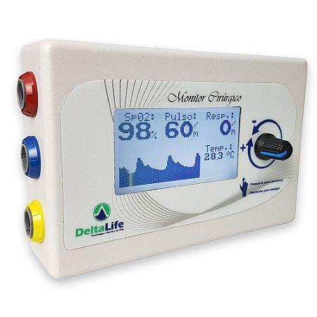DL420 Monitor Cirúrgico Veterinário Portátil