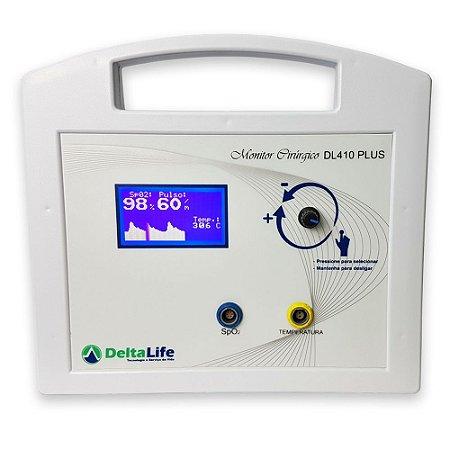 DL410 Monitor Cirúrgico Oxipet Plus Veterinário