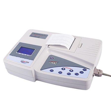 Eletrocardiógrafo EX 03 com Saída USB para Monitor.