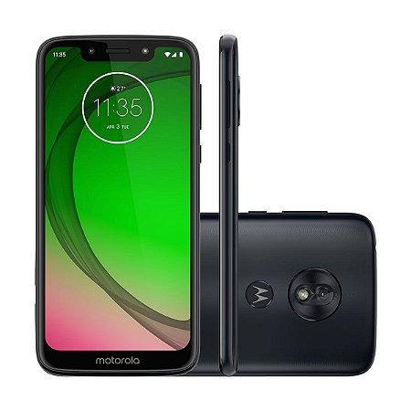 """PROMOÇÃO Motorola XT1952 Moto G7 Play , 32GB, Câmera 13MP, Tela 5.7""""-Azul- Excelente"""