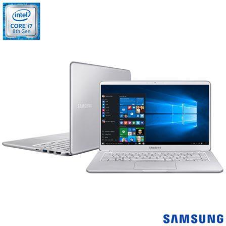 "Notebook Samsung Style S50 Intel Core i7 8GB 256GB SSD Tela LED 13,3"" Windows 10 - Prata"