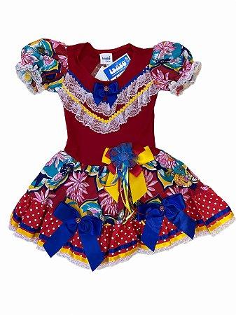 Vestido Junino Maria Fernanda