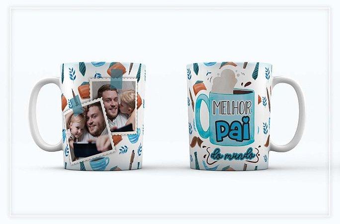 Caneca Porcelana personalizada dia dos pais