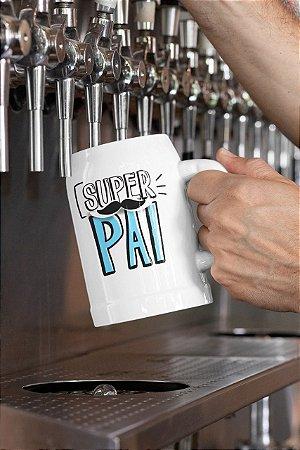 """Caneca Personalizada - """"Super Pai"""""""