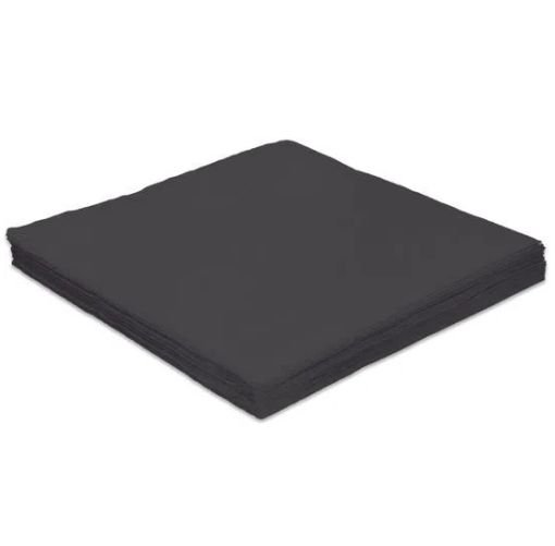 Guardanapo de papel Preto c/ 20 unidades