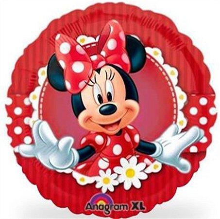 Balão Metalizado 18P - Minnie Vermelha