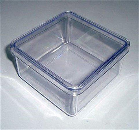 Caixa Acrílica 7x7 - Cristal 10 unidades