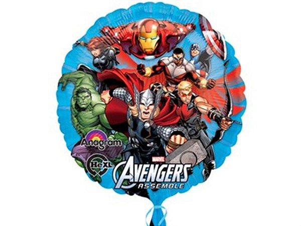 Balão Metalizado 9P Vingadores