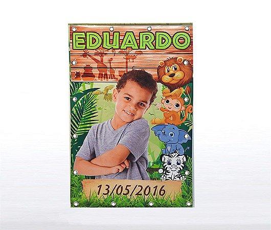 Banner Festa Infantil Personalizado com Ilhós - 2m x 1,5 m