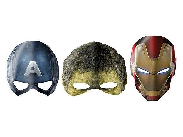 Máscaras Vingadores