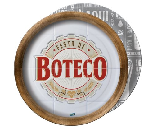 Prato - Festa de Boteco c/ 8 unidades