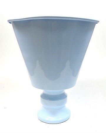 Vaso em Metal Grande - Azul