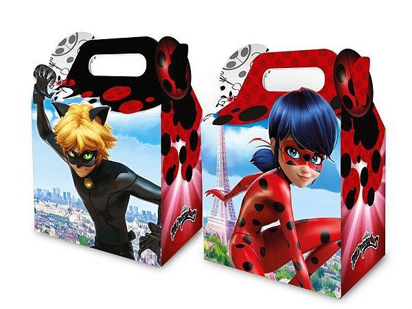 Caixa Surpresa - Miraculous Ladybug c/8 unidades