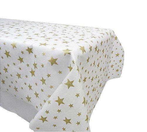 TNT a metro branco com estrelas douradas
