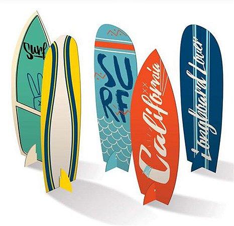 Enfeite de Mesa - Surf c/ 4 unidades
